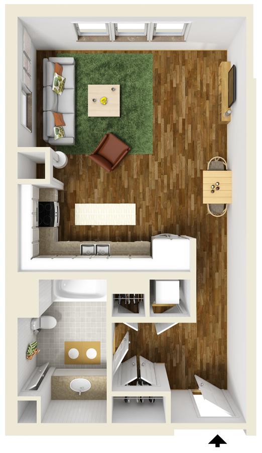 3 Bedroom Apartment Floor Plans