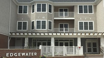 Front Exterior Photograph of Queset Commons - Easton MA Apartments